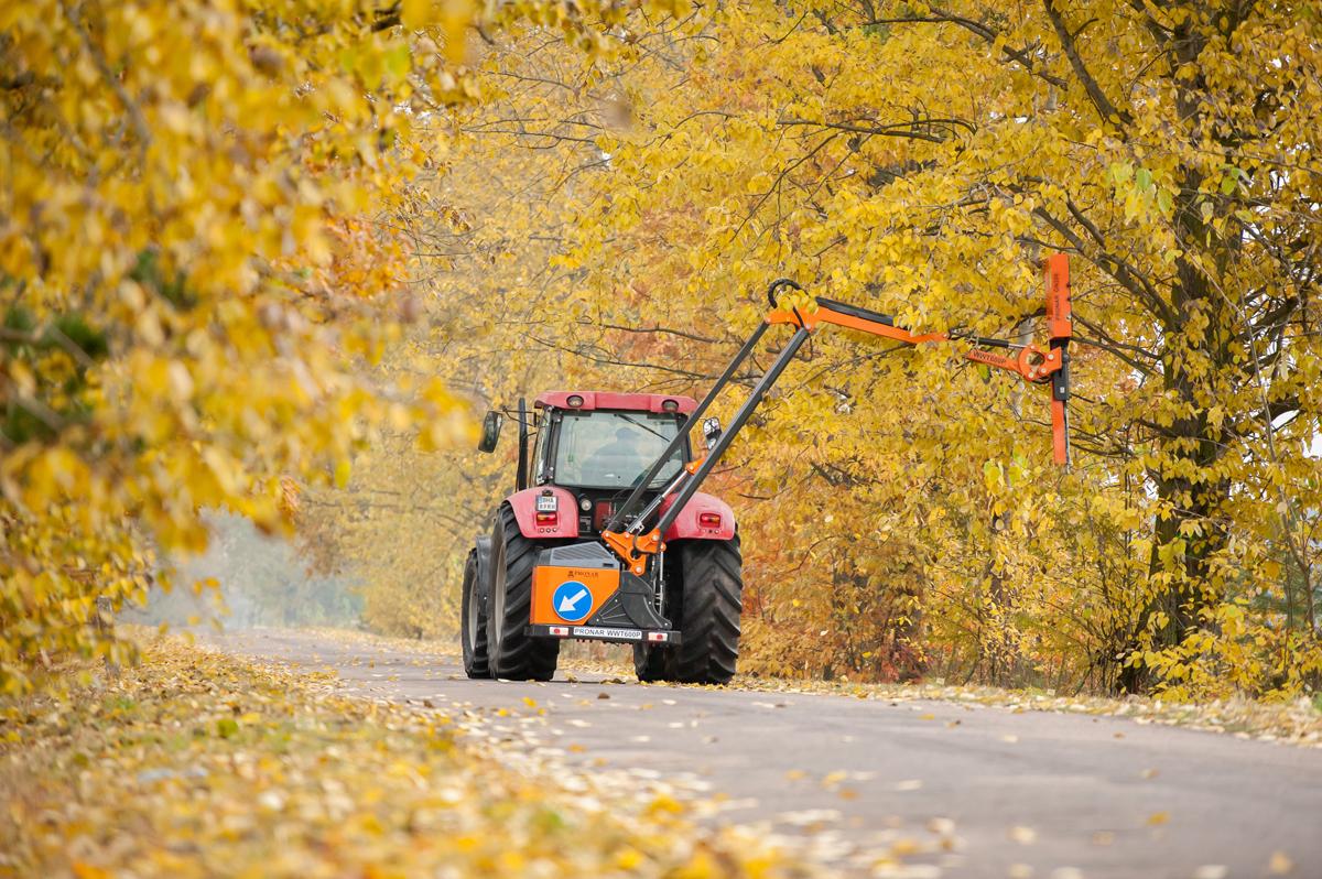 Utrzymanie zieleni drogowej